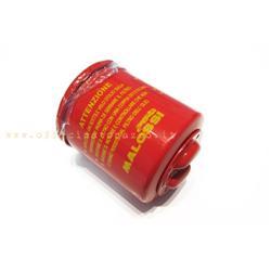 """0313382Q - Malossi """"RED CHILLI"""" engine oil filter for Vespa GT - GTV - GTS - LX ECC"""