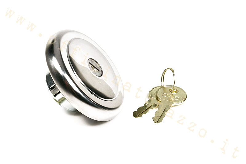 Tank cap with lock for Vespa PX and PK
