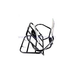 30 / A-NERO - Black rear rack with wheel holder for Vespa 125 GTR - 150 Sprint