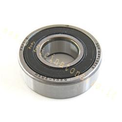 16204-2rs - Ball bearing SKF - 6204 / 2RS - shielded (20x47x14) rear wheel shaft for Piaggio - Gilera - Vespa