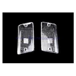 RP281 / BI / CP - White rear direction indicator light bodies for Vespa PK XL-FL2 - Rush