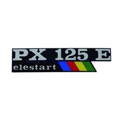 "8000000571311 - Placa de capó con bandera Elestart ""PX 125 E"""