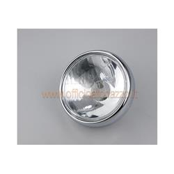 Front light in glass marked SIEM Ø115 without eyelid for Vespa VB1 - GS VS 1> 4