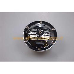 K015 - 6V chrome horn for Vespa 50 - 125 - 150 Super - Sprint - 180 SS - 180 Rally