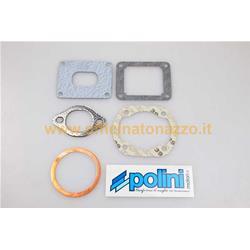 209.0467 - Polini 130cc Evolution cylinder gasket set in lamellar aluminum to the cylinder