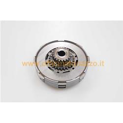 Complete clutch unit 7034 discs 3 springs Ø flange 7mm pinion Z107 for Vespa T20