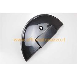 Spare wheel cover in glossy black plastic for Vespa PX 142680180/80/125/150 - PE- Luxury - T200