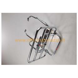 0802 / C - Faco verchromter Gepäckträger für Vespa 50N - PK - XL - HP - Rush
