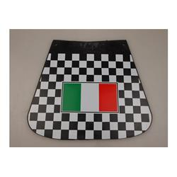 740434 - Checkered mudflaps with Italian flag for Vespa