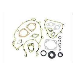 - Set of engine gaskets for Vespa PK 50 XL Rush with oil seal and o-ring with 3-hole manifold connection