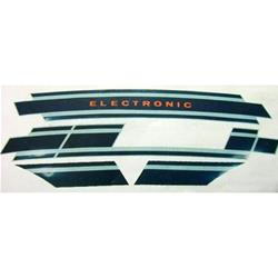 3380 - Vespa Electronic blue original Vespa ET3 sticker