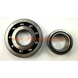 Pinasco main bearing kit flywheel side and clutch side for Vespa PX - PE - TS 25412900nd series