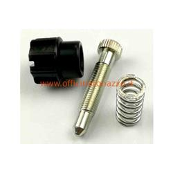 Screw complete minimum of spring adjustment for carburettor