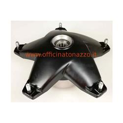 "Front brake drum black metal star model with disc brake for Vespa PX14571 / 125/150 - ""200 - MY -"" 98>"