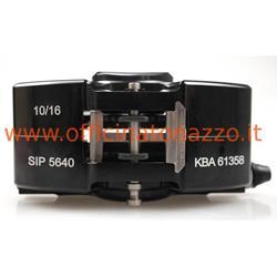 Black oversized disc brake caliper for Vespa PX (including pads)