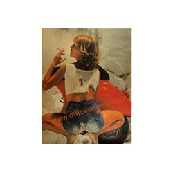 189110199 - Vespa 50 Special jeans poster measures 48 x 67 cm