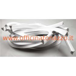 00984 / DB - White rubber profile hood px -pe 1 PC