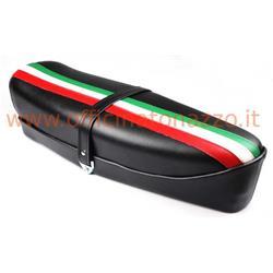 P0030FTN - Asiento Vespa primavera sin cerradura con bandera italiana
