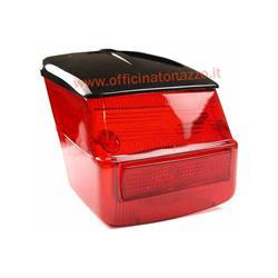 Helles rotes Rücklicht mit schwarzem Dach für die Vespa 125 GTR - TS - 150 Sprint> 0118590 - Sprint Veloce - 200 Rallye