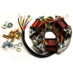 Stator SIP for Vespa 90 2 ° / R / SS / 100/125 VMA Primavra also suitable for Vespa 50 N / L / R / Special / SS (D) ignition coil