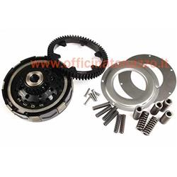 Clutch kit incl. primary transmission torque -BGM Pro Superstrong CR80, type Cosa2 / FL- elastic gear BGM Pro 62 teeth (straight teeth) - Vespa PX200, Rally200 - 23/62 teeth (2,69)