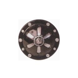 - 6v alternating current horn (without battery) black color adjustable for Vespa 125 from V1T to V15T from V30T to V33 until 1952