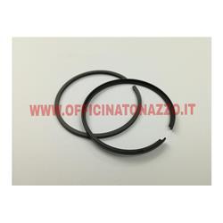 - Piston rings ASSO Ø 38.6x2mm for piston with L-segment, for Vespa 50 R - N - L- Special - PK (2 Pcs)