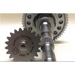 complete Gran Tour gearbox - Complete and assembled 4-speed Crimaz gearbox kit for Vespa smallframe Gran Tour version 10/55 14/53 18/50 21/47