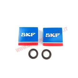kitcuscind25 - kit de rodamientos y sello de aceite Quattrini para motor de 200 cc (rodamiento SKF 52x15x25, sello de aceite en Viton 24x35x7)