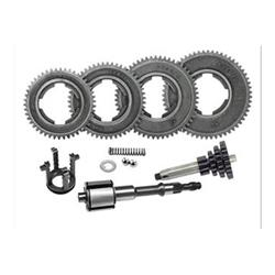 4-speed gearbox kit complete with multiple and cross adaptable to 3 gears for Vespa 50 N - L - R - Special - Primavera - ET3