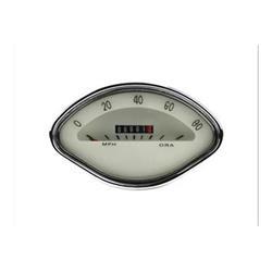 Odómetro escala 80 MPH color crema para Vespa VBA - VBB