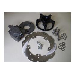 Hydraulic rear disc brake CRIMAZ perimeter disc with original type drum for Vespa small frame