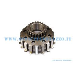 25270938 - Pinasco pinion gear Z 23 for clutch 8 straight tooth springs for Vespa PX from 1998 onwards and BULL CLUTCH compatible with Polini