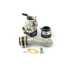25292708 - Pinasco PHBL 22 AD elastic valve suction kit with two-hole attachment for Vespa 50 - Primavera - ET3