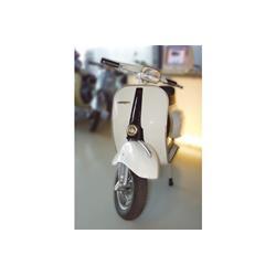 Capot de direction pour Vespa 50 Special / Elestart / SR / Sprinter, plastique, apprêté, emblème hexagonal