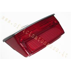 Rear light complete with gasket with gray roof for Vespa 50 Special - Elestart