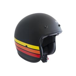 Helm mod. FLORIDA BASIC, schwarz glänzend, Größe L (58 cm)