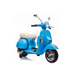 Vespa PX electric for children over 36 months blue color