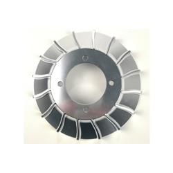 CNC / ROAD aluminum cooling fan for Vespa VMC ignition.