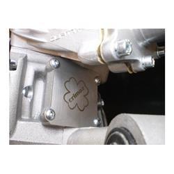Crimaz plate for closing the Quattrini crankcase intake hole