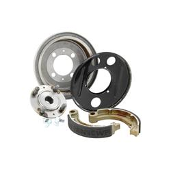 "Drum adaptation kit from 10 ""to 8"", rear with closed rim, for Vespa 125 V1-33 / VM / VN / ACMA / Hoffmann / VNA / VNB / Super / 150 VL / VB / VBA / VBB"