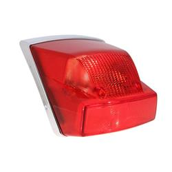 Luminous body SIEM complete rear light for Vespa PX125-200 / MY, also suitable for Vespa PX80-200 / PE / Lusso / `98 / MY /` 11 / T5