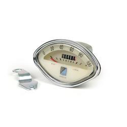 """Odómetro escala 100 km / h tipo original para Vespa 180 VSC """"SS"""", 150 VBA / VBB / VSB1 """"GS"""" / GL / GT / VS5 """"GS"""""""