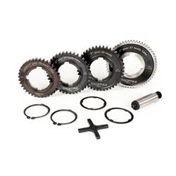 Motor gear kit -BGM PRO- Vespa PX Arcobaleno, Disc, My, 2011 (1984-) - PX125 (VNX2T 232053-, ZAPM), PX150 (VLX1T 624602-, ZAPM), PX200 (VSX1T 315267-), Cosa, T5 125cc , LML Star 2-stroke, Star 2-stroke - 12/57, 13/42, 17/38, 21/36