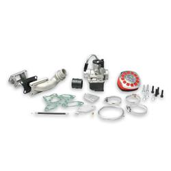 Reed supply kit to Malossi cylinder complete with carburettor Ø25 2A SERIES FOR VESPA ET3 PRIMAVERA 2T 125 CC