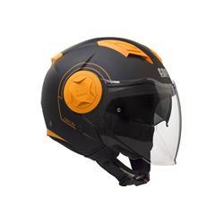 Helmet mod.DIXON 129S Orange fluo matt, size S (55-56 Cm)