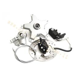 Grimeca semi-hydraulic front disc brake 30900000mm axle with star hub for Vespa PX - PK (with fork type PX)