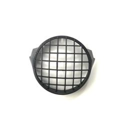 Front light guard in black plastic for Vespa PX 125-150-200 Ø 170mm