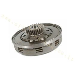 Complete Ferodo clutch unit, 4 discs, 8 springs Ø flange 115mm, pinion Z23 for Vespa PX200E Lusso `95 -> /` 98 / MY / Cosa 2 200