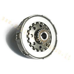 7043 - Unidad de embrague completa 5 discos 8 muelles de piñón Z22 para Vespa PX 125/150/200